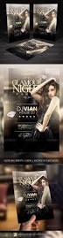 glamour night party flyer template