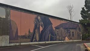 Wall Mural Country Forest Road Pizarro San Jose Freeway Mural A Hidden Artistic Gem