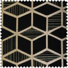 Black And Gold Curtain Fabric Fabric For Curtains