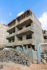 small house construction house construction site in nairobi kenya stock image image of