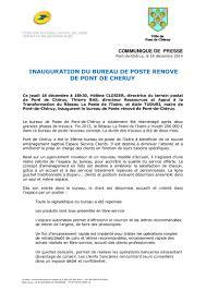 bureau de poste vaugirard 2014 12 18 cp inauguration bp pont de cheruy