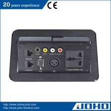 conference table pop up china multi media desk pop up outlet power plugs connection box for