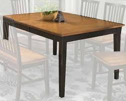 intercon shaker leg dining table arlington inar4278tab