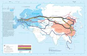 Xi An China Map by Silk Road Maps Useful Map Of The Ancient Silk Road Routes