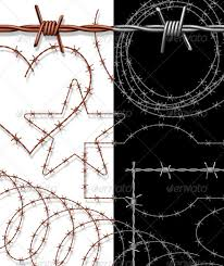 barbed wire adobe illustrator brush on graphic river tradigital
