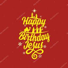 happy birthday jesus merry stock vector biblebox