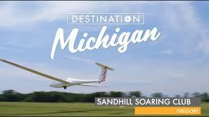 Michigan travel clubs images Wcmu quot destination michigan quot featuring sandhill soaring club jpg