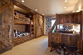 Awesome Rustic Bunk Beds Editeestrela Design - Rustic wood bunk beds