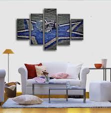 dallas cowboys 5 piece canvas painting empire prints