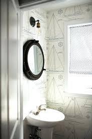 porthole mirrored medicine cabinet nautical mirror bathroom medicine cabinet mirror with ceramic sink