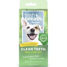 tropiclean fresh breath clean teeth gel for dogs petco