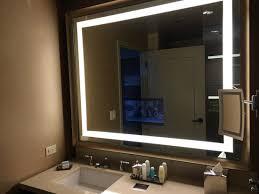 bathroom with tv in mirror picture of omni dallas hotel
