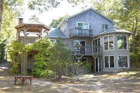brewster vacation rental home in cape cod ma 02631 directly on