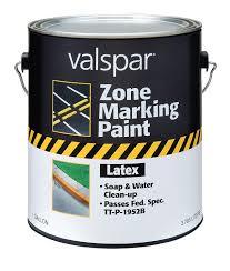 amazon com valspar 24 136g yellow latex zone marking paint 1