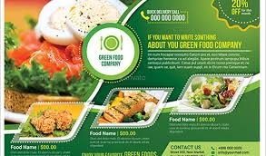 Free Food Brochure Templates free food brochure templates free food brochure templates 16 green