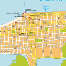 Maps De Mexico by Map Progreso Mexico Maps And Directions At Map