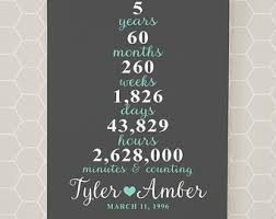 5 yr anniversary gift 5 year wedding anniversary gift ideas b18 on images
