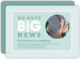 announcement cards pregnancy announcement cards
