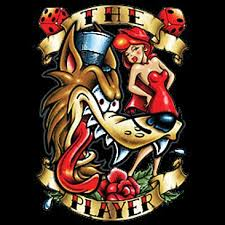 the player vintage tattoo t shirt choiceshirts t shirt review