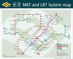 6 Train Map Singapore Mrt U0026 Lrt Train Rail Maps