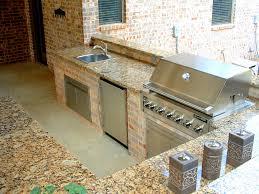 kitchen beautiful outdoor kitchen ideas for summer granite
