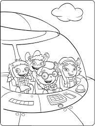 little einsteins coloring pages coloringsuite com