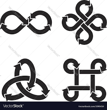 infinity sign infinity symbol icons royalty free vector image