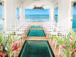 destination weddings new the water chapel at sandals south coast jamaica