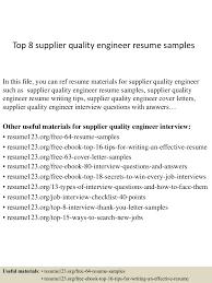 Edifecs Interview Questions Automotive Quality Engineer Sample Resume Resume Templates