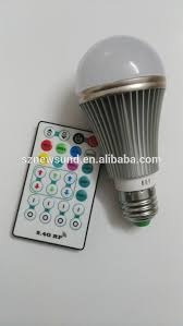 remote control rechargeable led bulb light remote control