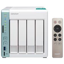 Home Nas by Qnap 4 Bay Dual Core Nas Featuring Usb Quickaccess Port For Direct