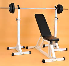 buy split suit large flat bench barbell squat rack weightlifting