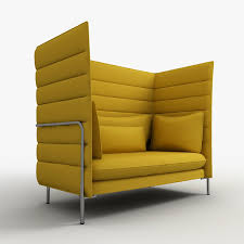 high back sofa alcove highback sofa has side and back panels of exceptional height