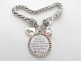best gifts for mom mother of the bride bracelet you are my best friend and