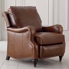 Recliners That Don T Look Like Recliners Brown Leather Recliner Oxford Bassett Furniture