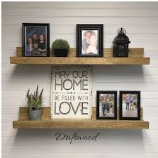 decorations will fit any decor in your home with picture ledge
