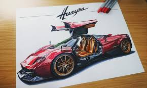 pagani drawing search results for paganihuayra draw to drive