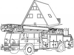 fire truck coloring pages free print 30018