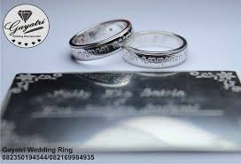 model model cincin model cincin kawin pernikahan emas putih muslim terbaru
