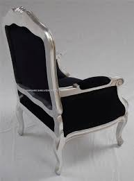 French Style Armchairs Uk A Beautiful Gold Leaf And Black Arm Chair Hampshire Barn Interiors