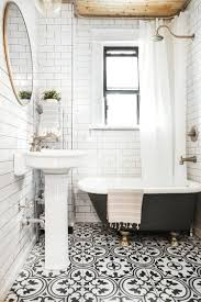 black and white country bathroom colors decorations with floral