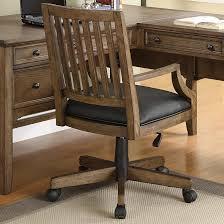 wooden rolling desk chair oak swivel desk chair wooden desk and chair solid wood office desk