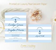 Wedding Invitation Printing 2566 Best Nautical Wedding Invitations Images On Pinterest