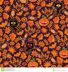 cat halloween background images seamless halloween texture with black cat royalty free stock