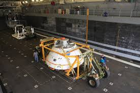 recovery at sea nasa prepares for second orion recovery test nasa