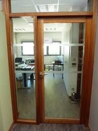 porte de bureau vitr porte intérieure de bureau bois vitrée