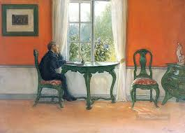 required reading 1900 carl larsson painting in for sale