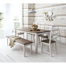 bench and chairs dining set dining room best collection kitchen