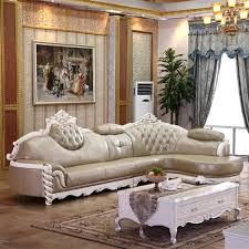 cuir canap type de lit en cuir canap ensemble meubles salon europe luxe