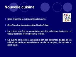 la cuisine du nord la cuisine française ppt télécharger